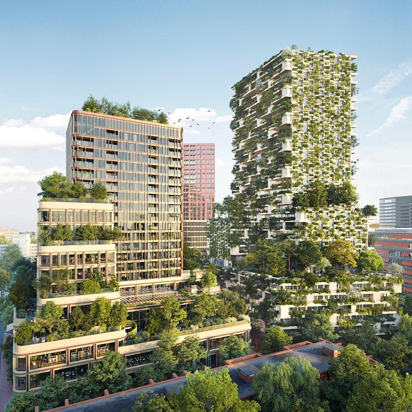 荷兰绿色城市发展项目Wonderwoods  Wonderwoods官网图