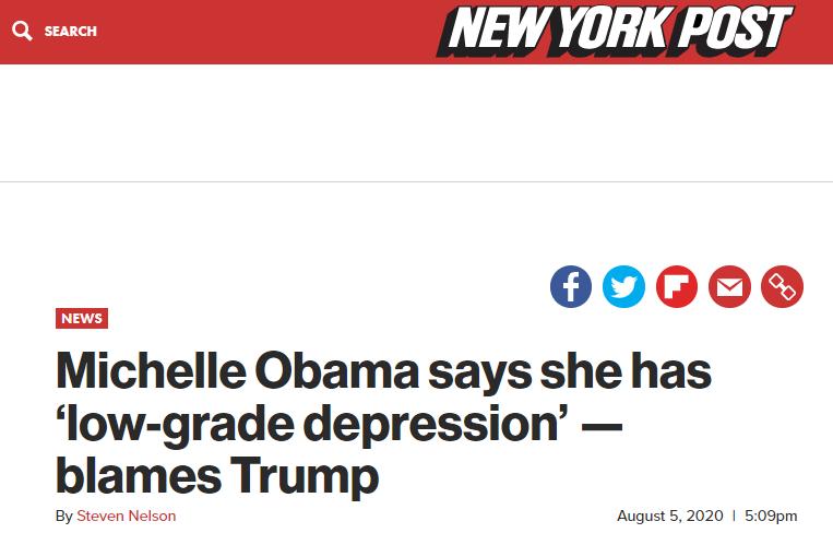 【币安】_美国前第一夫人:特朗普政府的虚伪让我得了抑郁