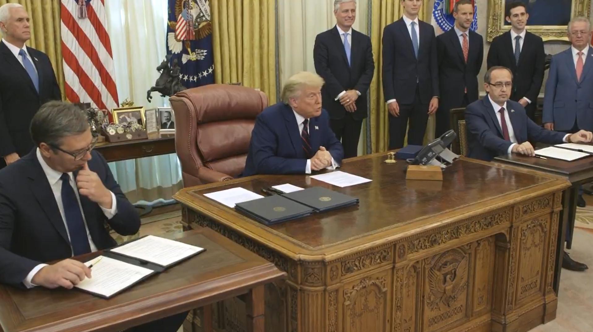 【谷歌pr】_美国撮合下,塞尔维亚与科索沃实现经济关系正常化