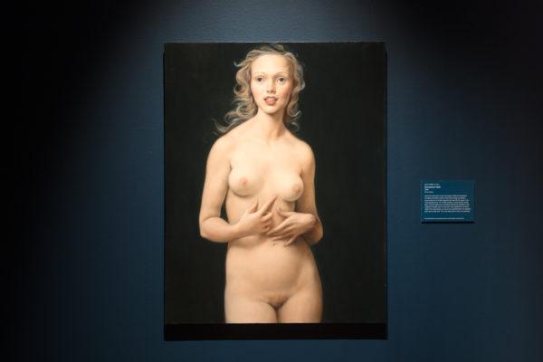 约翰·柯林,《裸体蜜月》,1998,布面油画
