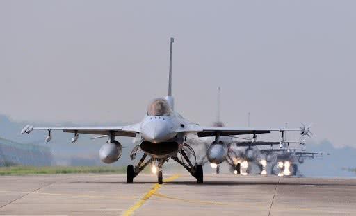 美国将通过军售案 将韩国134架F-16升级为F-16V