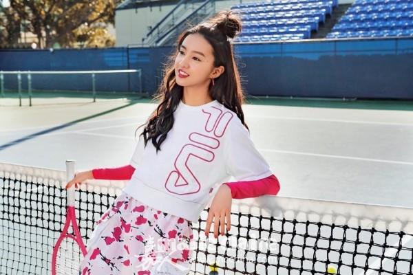 当经典网球廓形遇上日系少女风尚 FILA(斐乐) FUSION BY Kōki, 系列绽放新时代青春活力