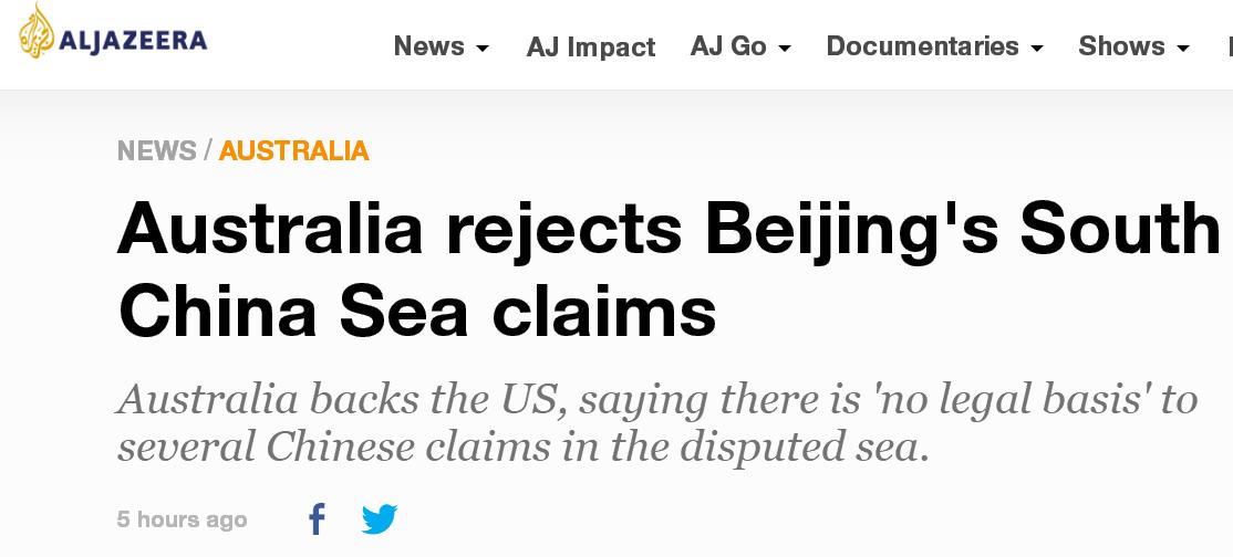【关键词排名李守洪排名大师】_紧跟美国,澳大利亚也跳出来反对中国对南海主张