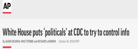 """【彩乐园3app】_美媒爆料:白宫在疾控中心安插""""线人""""!竟是为这一目的"""