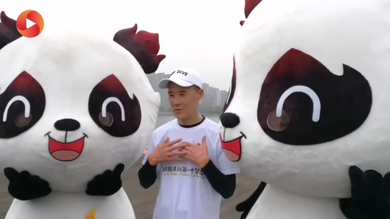 打call大运会 69岁王石打卡成都环湖健康跑