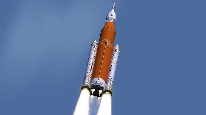 SLS火箭首飞日期一推再推