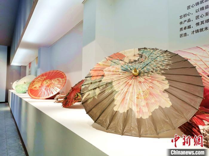 資料圖:江陽分水油紙傘。 曾森 攝