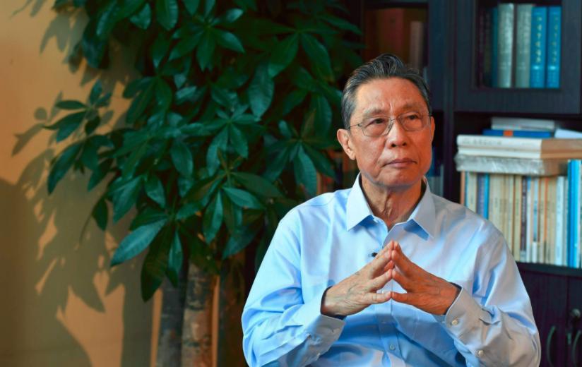 钟南山院士否认商业代言:我怎么会做那些东西(图)