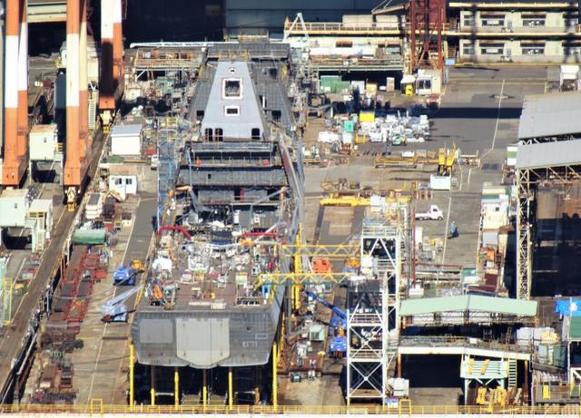 日本下一代护卫舰将下水 美媒:腾出驱逐舰专门对付中朝