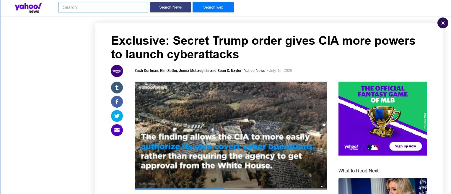 【快猫网址是什么】_美媒:特朗普曾下密令 直指中俄伊朝与朝鲜