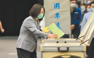 民进党党职改选,各派系间的争斗暗藏汹涌,就连陈水扁也来搅浑水