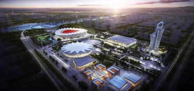 西安奥体中心再投2.5亿建造最大景观亮化工程插图