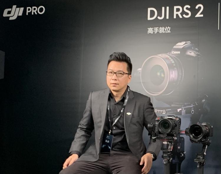 大疆创新高级产品经理PAUl PAN