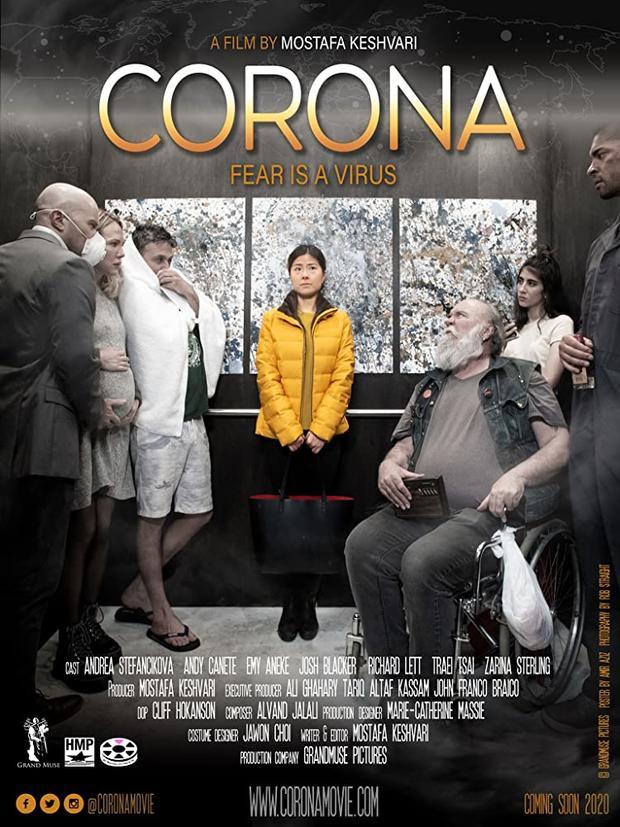 """首部""""冠状病毒""""电影出炉,讲述中国人电梯中被歧视"""
