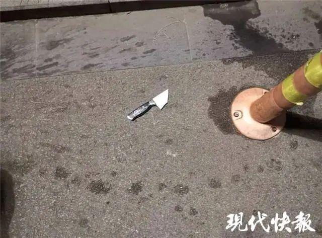 【百度搜索优化】_江苏夫妻吵架从29楼扔下20厘米长菜刀 楼下一人正在散步