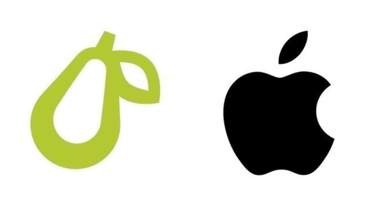 长得像就是不行!苹果将Prepear梨形商标官司打到了加拿大