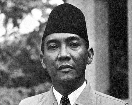 印尼开国总统苏加诺