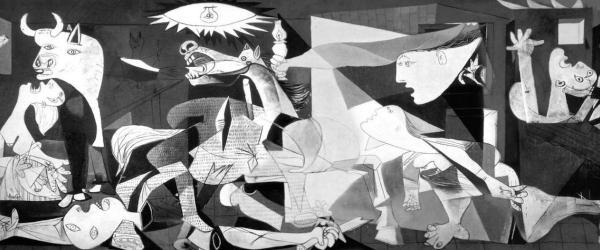 毕加索《格尔尼卡》