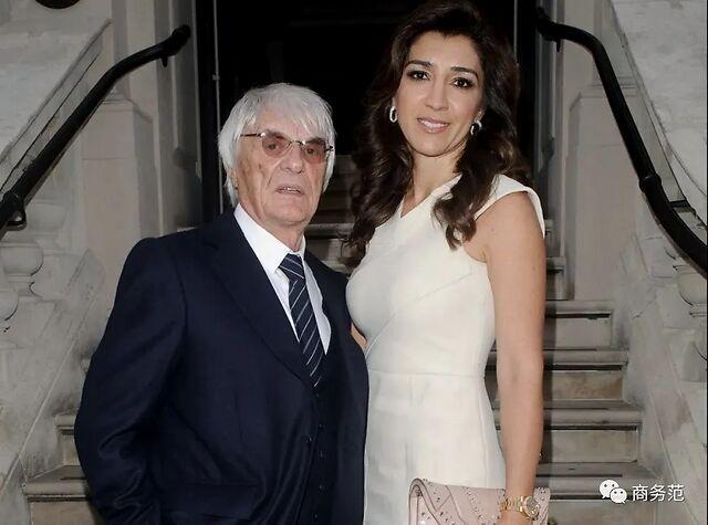 89岁F1前总裁宣布44岁妻子怀孕!对自己抠门,老婆女儿整天买买买