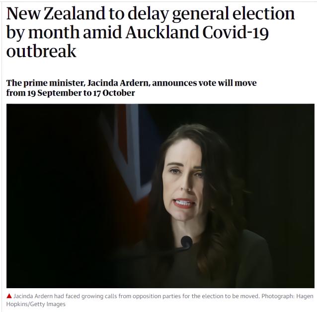 【网站优化培训】_老双标了!曾指责香港推迟选举的新西兰,决定推迟大选了