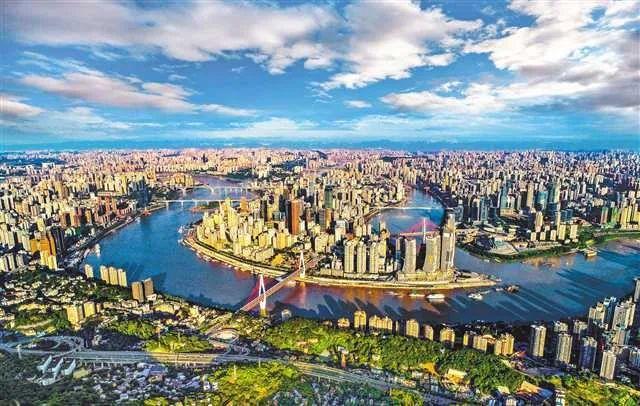 △重庆城市风貌。