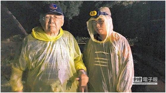 """郭志刚(左)林廷颖(右)(图源:台湾""""中时电子报"""")"""