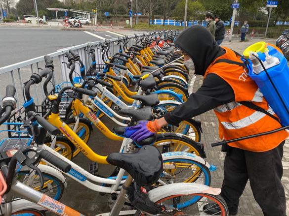 美团单车推动立项 共享单车消毒规范即将出台