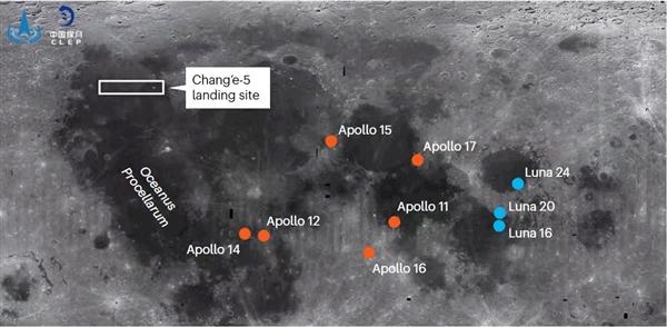 嫦娥五号登陆月球!第一张照片震撼公布