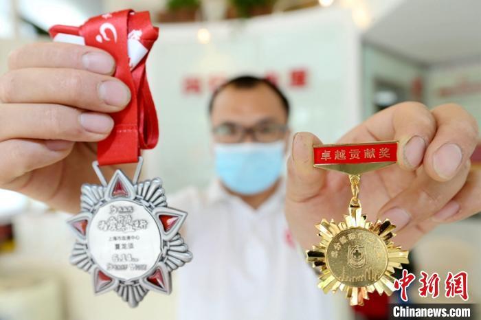 水电维修工18年献血137次 发明消毒灯疫情中救急