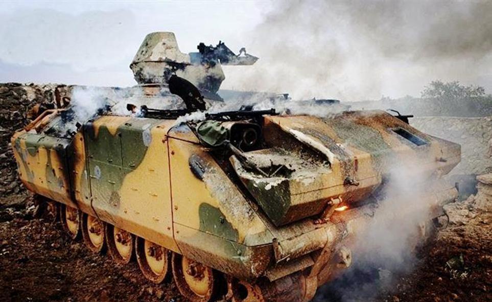 俄叙联军步步紧逼,土耳其动用王牌火箭炮,技术源自亚洲