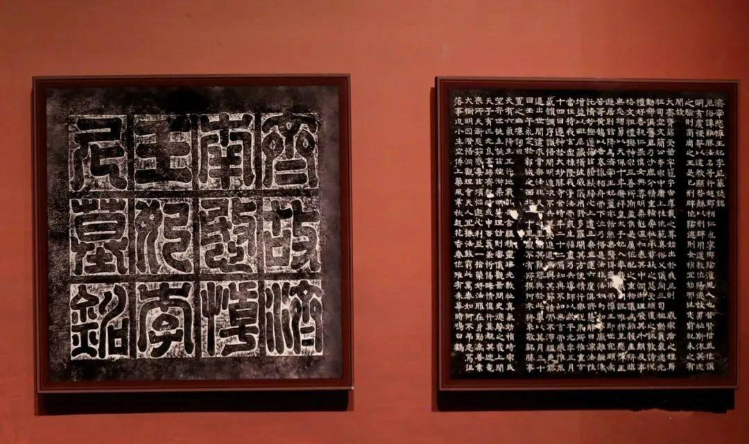 """第三展厅""""泱泱文明""""的展示"""
