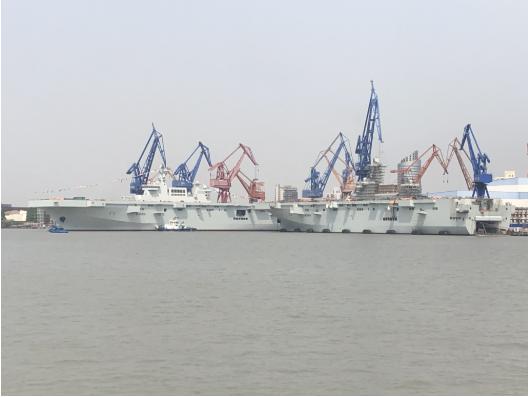 小航母还是大两攻?076型攻击舰将装备电磁弹射器