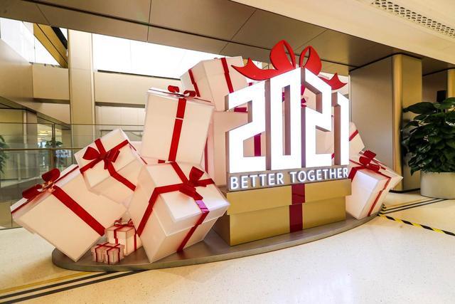 华为全球旗舰店将首次点亮红色LOGO!元旦一起去打卡