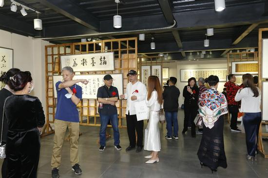 """""""翰墨凝华——书法家李永斌作品展""""在京举行"""