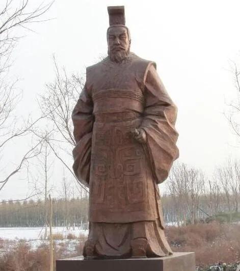 上图_ 秦孝公(公元前381年12月6日—公元前338年),嬴姓