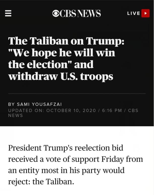 【快猫网址经验分享】_塔利班发声,特朗普团队吓得急忙拒绝