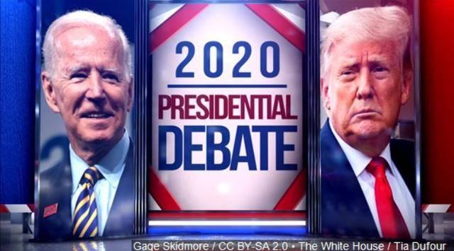 【田修思】_首场辩论特朗普打断他人73次 网友:只看到三个老白男人在叫喊