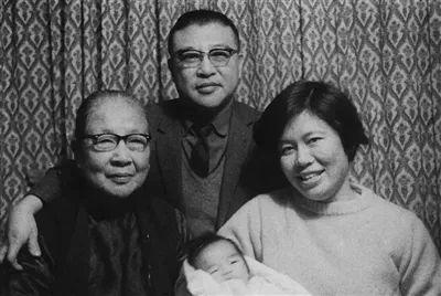 许倬云家庭合影(1969)。