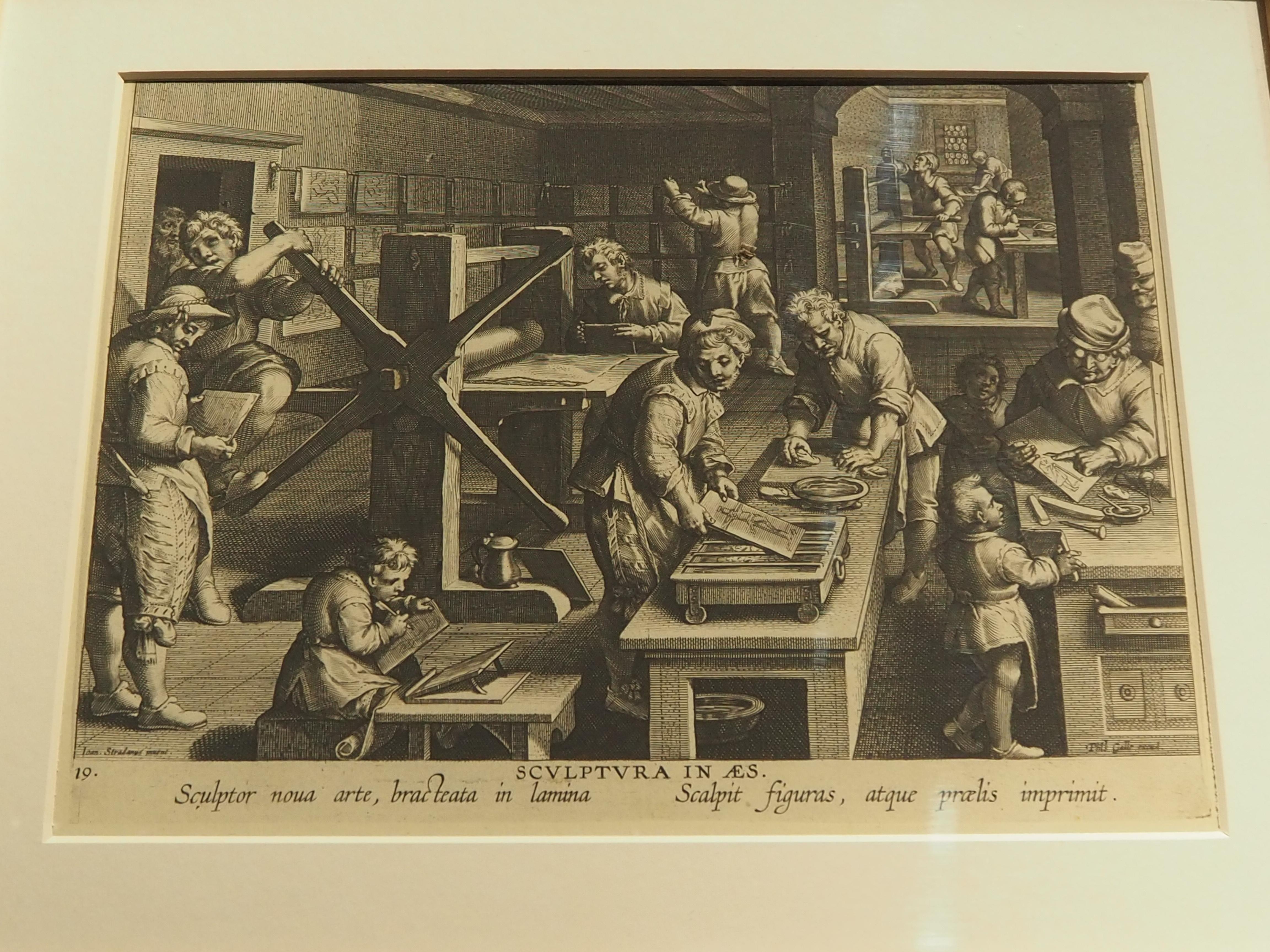 《现代的新发明,铜版画的发明》