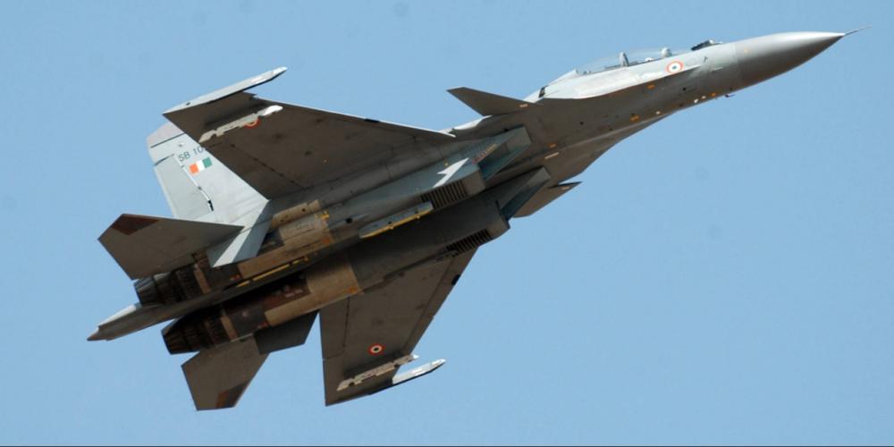 [印度空军的Su-30MKI战斗机]