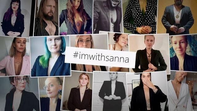 社交媒体Instagram上掀起了对马林的支持 图片:ins截图