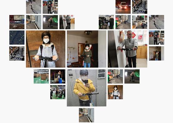 九号机器人向湖北医院捐赠100辆共享滑板车,解决医护人员交通问题