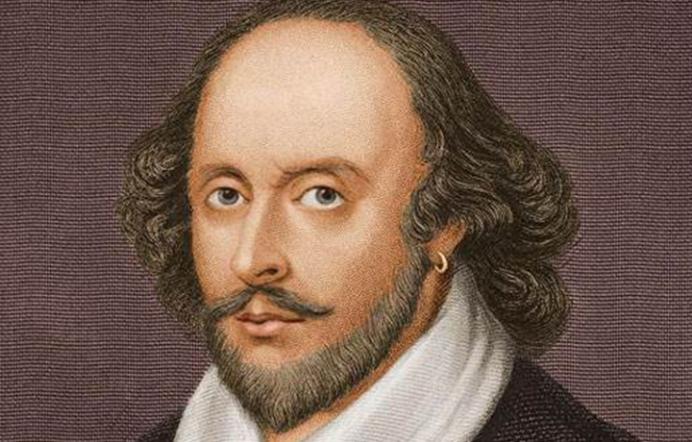 目光深邃的莎士比亚