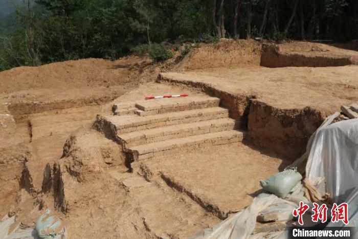 东踏道上部。陕西省考古研究院