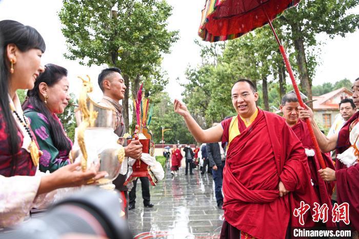 7月31日,班禅一行抵达雪林多吉颇章。 何蓬磊 摄