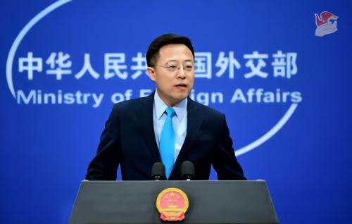 【快猫网址论坛】_外媒记者就FBI局长指责中国发问,赵立坚:FBI说的话你也信?