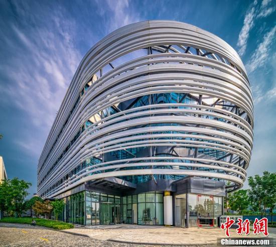 """探访中国首个""""5G+AI""""全场景商用示范园区——张江人工智能岛"""