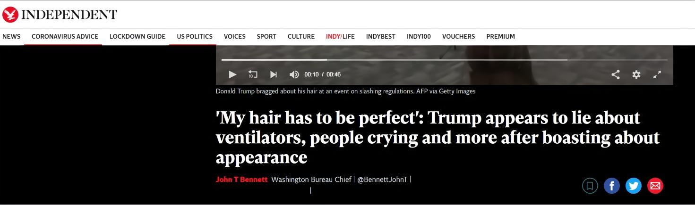 "【google英文】_特朗普""抱怨""淋浴喷头不出水:我的头发一定要完美"