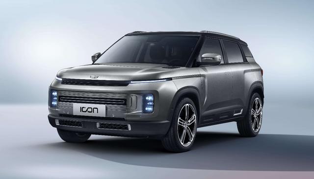 本次吉祥推出的新车ICON分为三个车型划分为