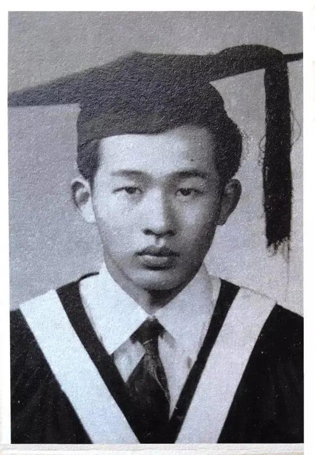 ·崔崑的毕业照